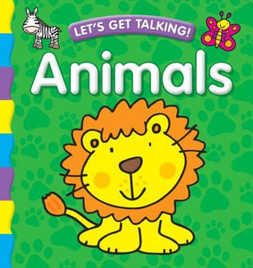 Let's Get Talking Animals Padded Board