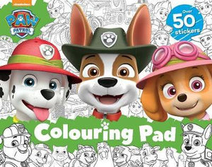Paw Patrol Colouring Pad