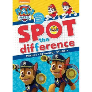Paw Patrol Spot the Difference
