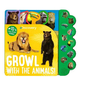 Growl with the Animals Sound Book