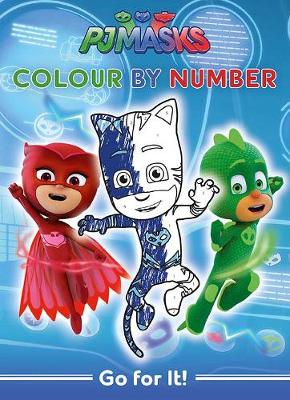 PJ Masks Go For it Colour by Numbers