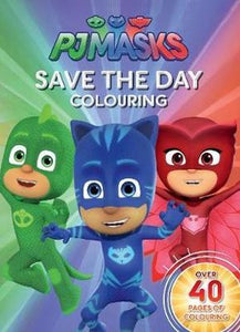 PJ Masks Colouring
