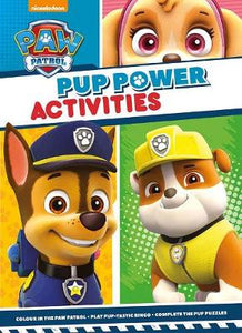 Paw Patrol Pup Power Activities Book