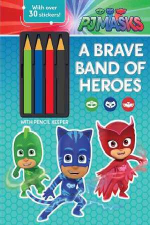 PJ Masks Band of Heroes Activity with Pencils