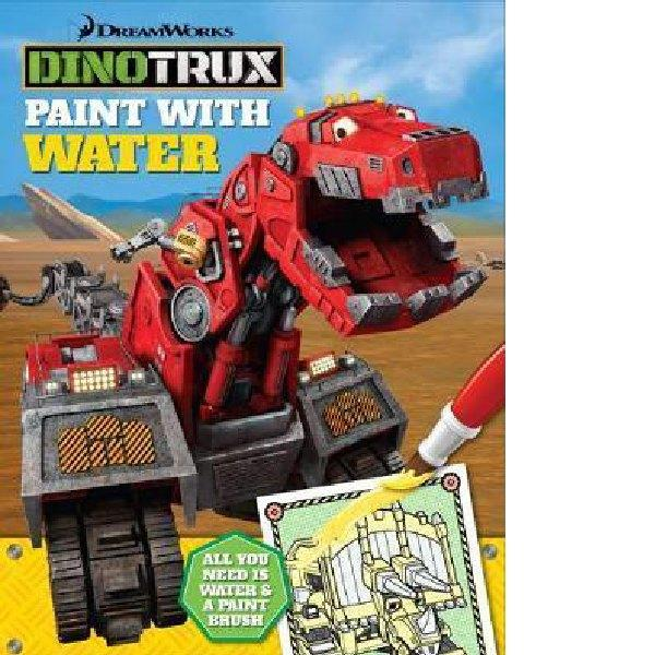 Dinotrux Paint with Water