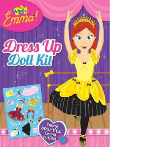 The Wiggles Emma Dress Up Doll Kit