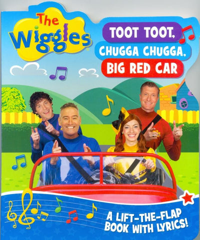 The Wiggles Toot Toot Chugga Chugga Lift The Flap Book
