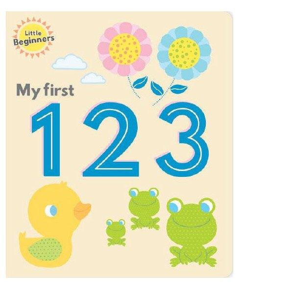 Little Beginners My First 123 Board Book