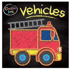 Chalk Art Vehicles
