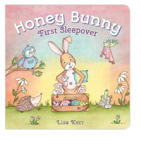 Honey Bunny First Sleepover Lift the Flap Board Book