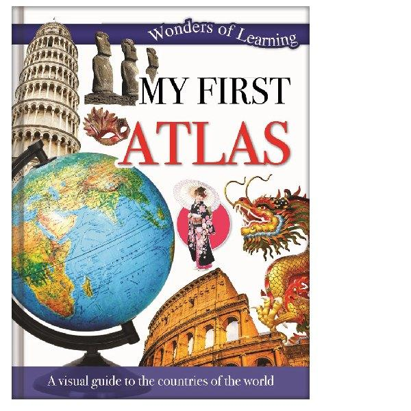 Wonders of Learning My First Atlas