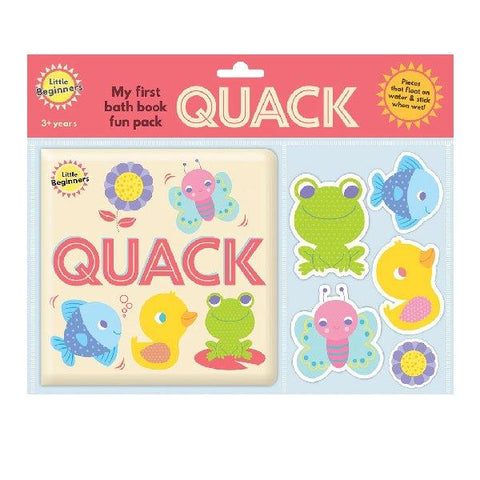 Little Beginners Quack Bath Book