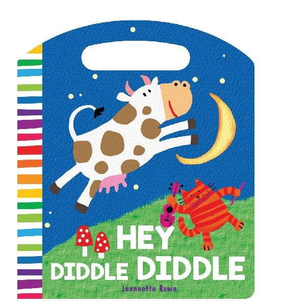 Hey Diddle Diddle  Board Book - Jeanette Rowe