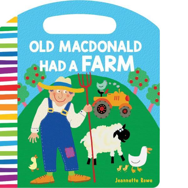 Old MacDonald Had a Farm Board Book - Jeanettte Rowe