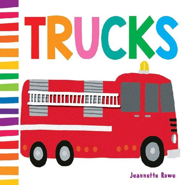 Trucks Baby Board Book