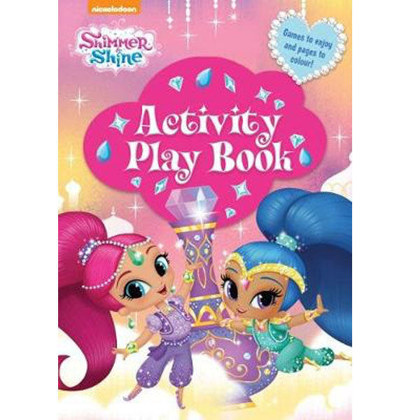 Shimmer & Shine Activity Play Book