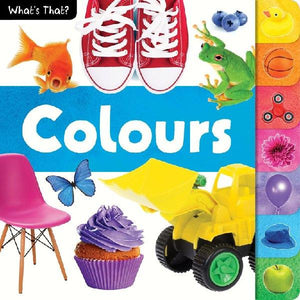 Whats That! Colours Photographic Tabbed Board