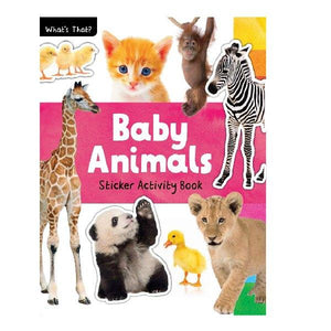 What's That! Baby Animals Photographic Sticker Book
