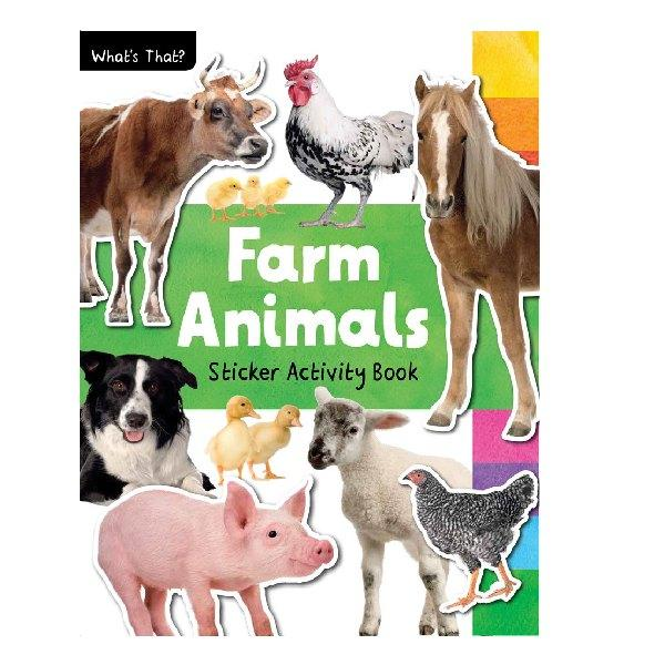 What's That? Farm Animals Photographic Sticker Book