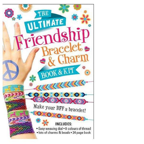Ultimate Friendship Bracelet Bk & Kit