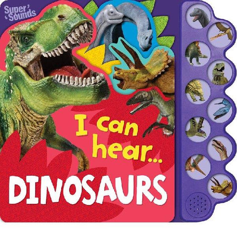 I Can Hear Dinosaur Sound Book