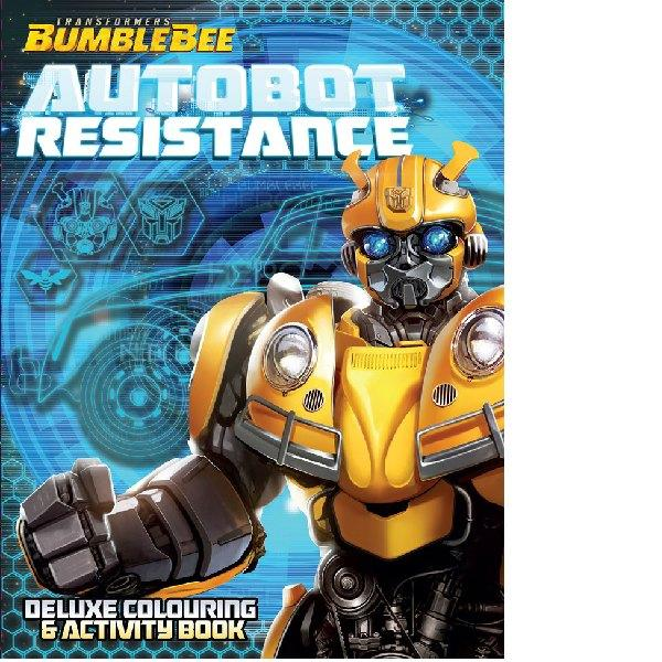 Transformers Bumblebee Deluxe Colouring Activity Book