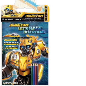 Transformers Bumblebee Activity Pack