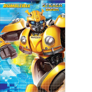 Transformers Bumblebee Sticker Activity