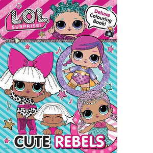 LOL Surprise Cute Rebel Deluxe Colouring