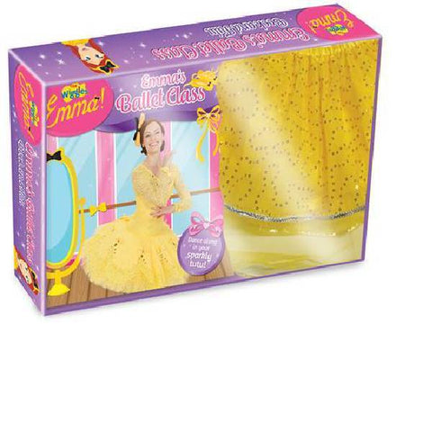 The Wiggles Emmas Ballet class Book and Tutu Boxset