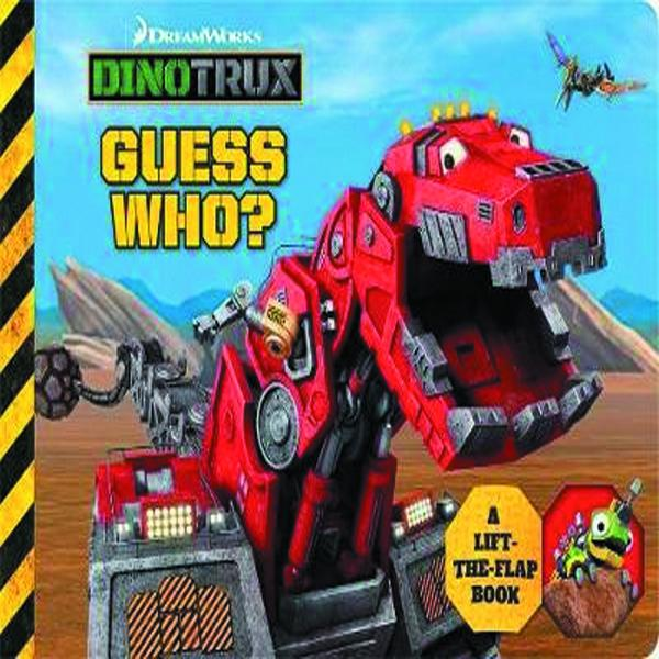 Dinotrux Guess Who? Lift the Flap