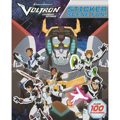 Voltron Sticker Scene Fun