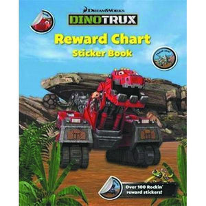 Dinotrux Reward Chart Sticker Book
