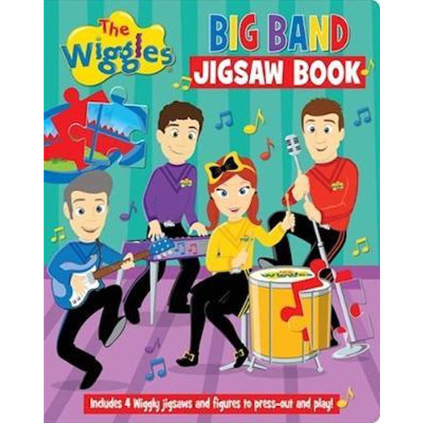 The Wiggles Big Band Jigsaw Book