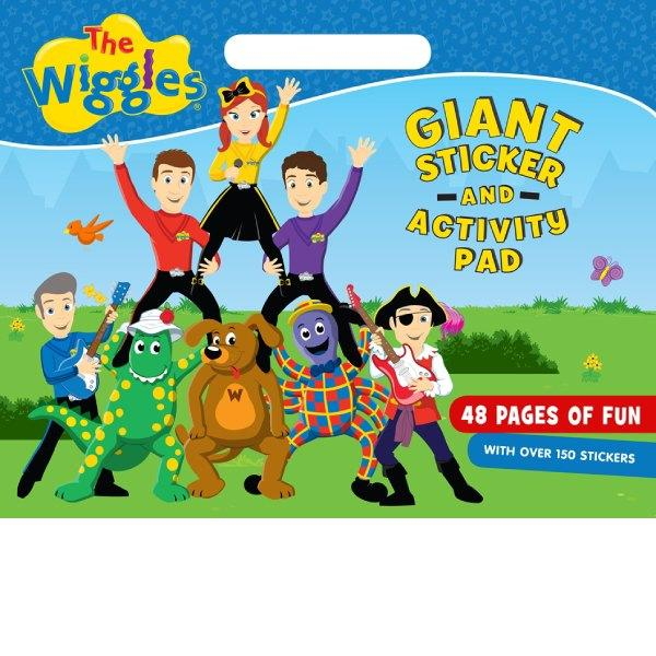 Wiggles Giant sticker & Activity Pad