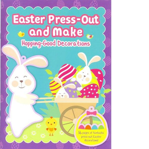 Easter Press Out & Make Hopping Good