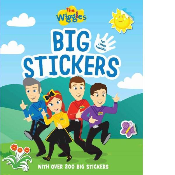 The Wiggles Big Stickers For Small Hands