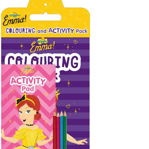 Wiggles Emma Colouring & Activity Pack