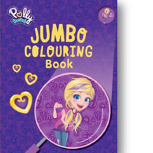 Polly Pocket Jumbo Colouring Book