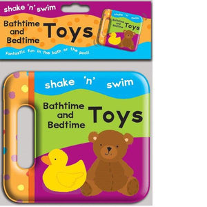 Shake N Swim Toys Bath Book