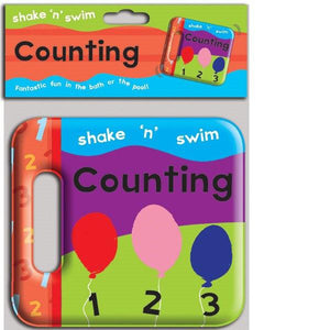 Shake N Swim Counting Bath Book