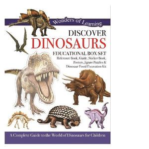 Wonders of Learning Discover Dinosaurs Educational Boxset