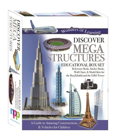 Wonders of Learning Discover Mega Structures Educational Boxset