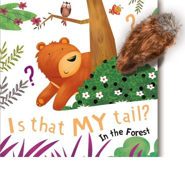 Is That My Tail In The Forest Plush Board