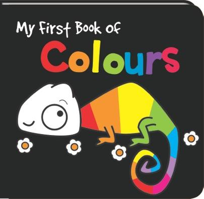 Black and White My First Book of Colours