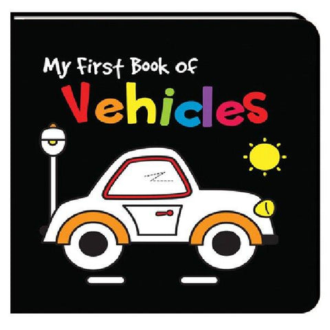 Black and White My First Book of Vehicles