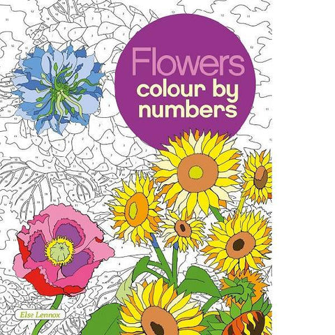 Flowers Colour By Numbers