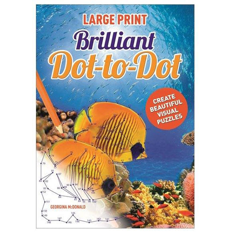 Large Print Brilliant Dot to Dot