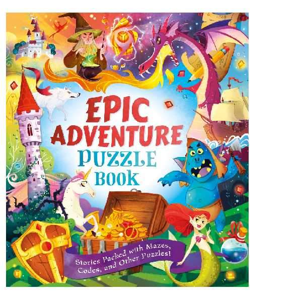Epic Adventure Puzzle Book