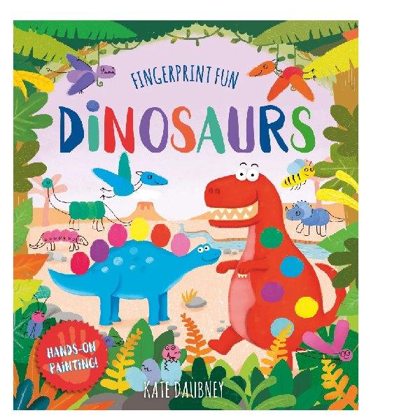 Fingerprint Fun Dinosaurs